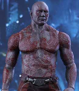 Drax Guardians of The Galaxy Hot Toys
