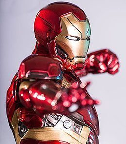 Iron Man Mark XLVI Civil War Art Scale Iron Studios