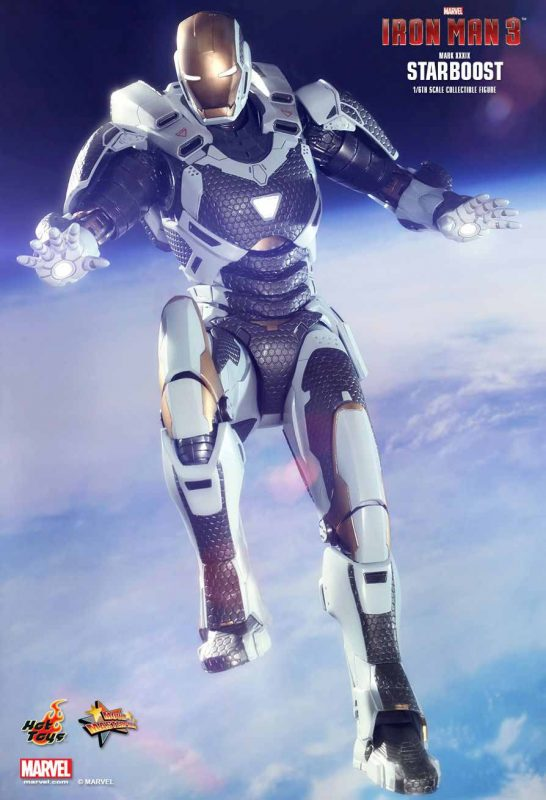 Iron Man 3 Man Mark XXXIX Starboost Hot Toys