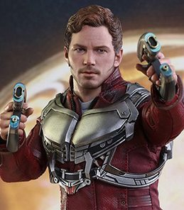 Star Lord Guardians of The Galaxy vol. 2 Hot Toys