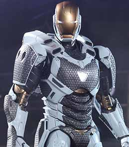 Iron Man 3 Man Mark XXXIX Starboost Hot Toys