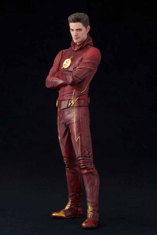 The Flash TV Series Flash Artfx+ Kotobukiya