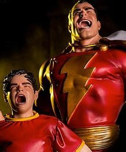 Shazam DC Comics Art Scale Iron Studios
