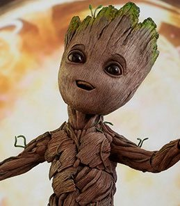 Baby Groot Guardians of the Galaxy Vol 2 Hot Toys