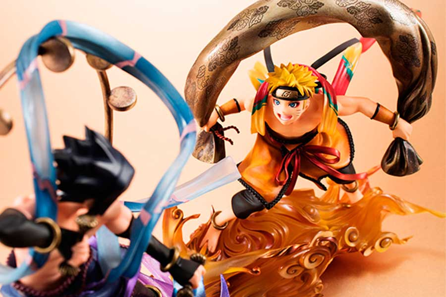 Naruto Uzumaki Fujin Remix G.E.M. MegaHouse