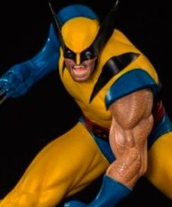 Wolverine Marvel Comics Art Scale Iron Studios