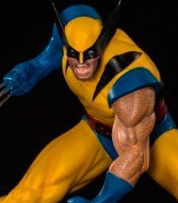 Wolverine Marvel Comics Art Scale Iron Studios