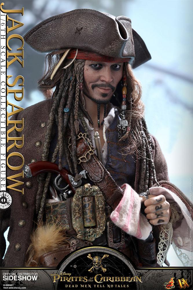 Jack Sparrow Dead Men Tell no Tales Hot Toys