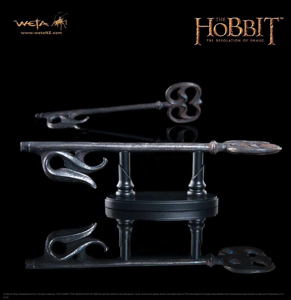 The Mirkwood Gaol Key Prop Replica The Hobbit Weta