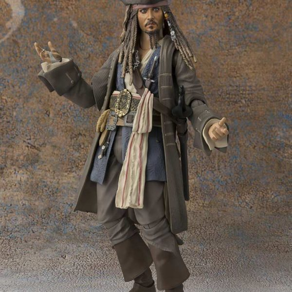 Captain Jack Sparrow Pirates of Caribbean S.H.figuarts Bandai