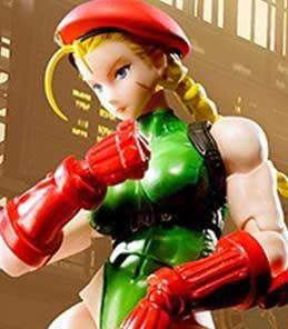 Cammy Street Fighter V S.H.Figuarts Bandai