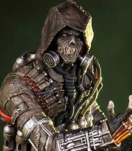Scarecrow Arkham Knight Art Scale Iron Studios