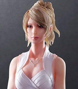 Lunafreya Nox Fleuret Play Arts Kai Square Enix
