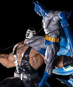 Batman vs Bane by Ivan Reis Art Scale Iron Studios