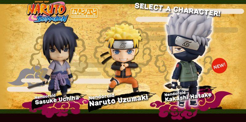 Novas Figuras Nendoriod Naruto Shippuden