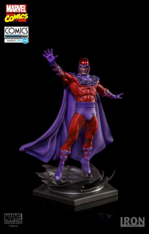 Magneto Marvel Comics Art Scale Iron Studios