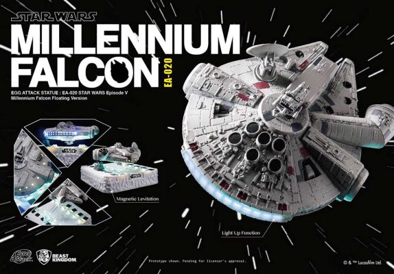 Millennium Falcon Egg Attack Floating Beast Kingdom