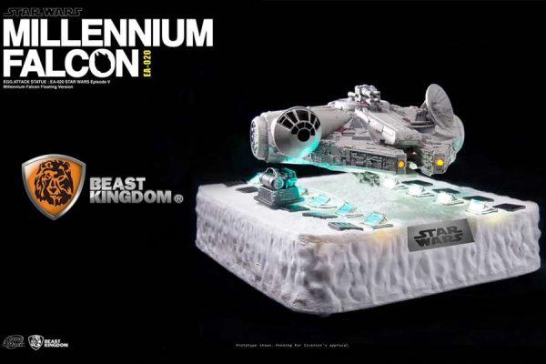 Millennium Falcon Egg Attack Floating Beast Kingdom