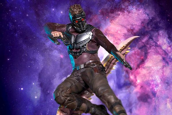 Star Lord Guardians of the Galaxy vol 2 Iron Studios