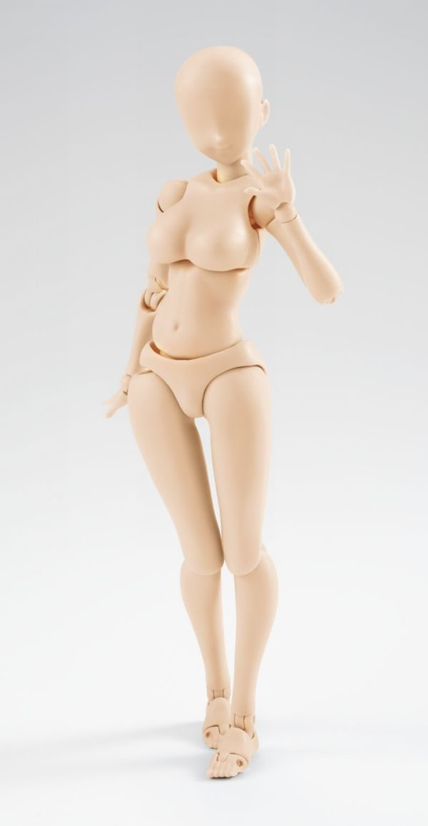 Body Chan Woman DX Set Pale Orange ver. S.H.Figuarts Bandai
