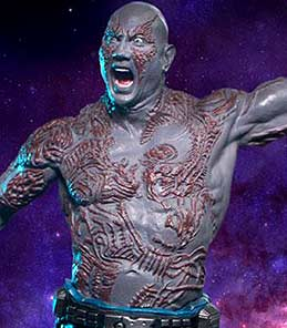 Drax Guardians of the Galaxy vol 2 Iron Studios