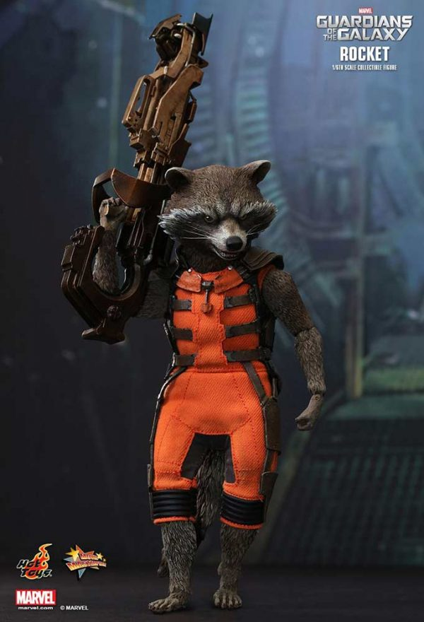 Rocket Guardians of the Galaxy Hot Toys