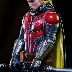 Robin Arkham Knight Art Scale Iron Studios
