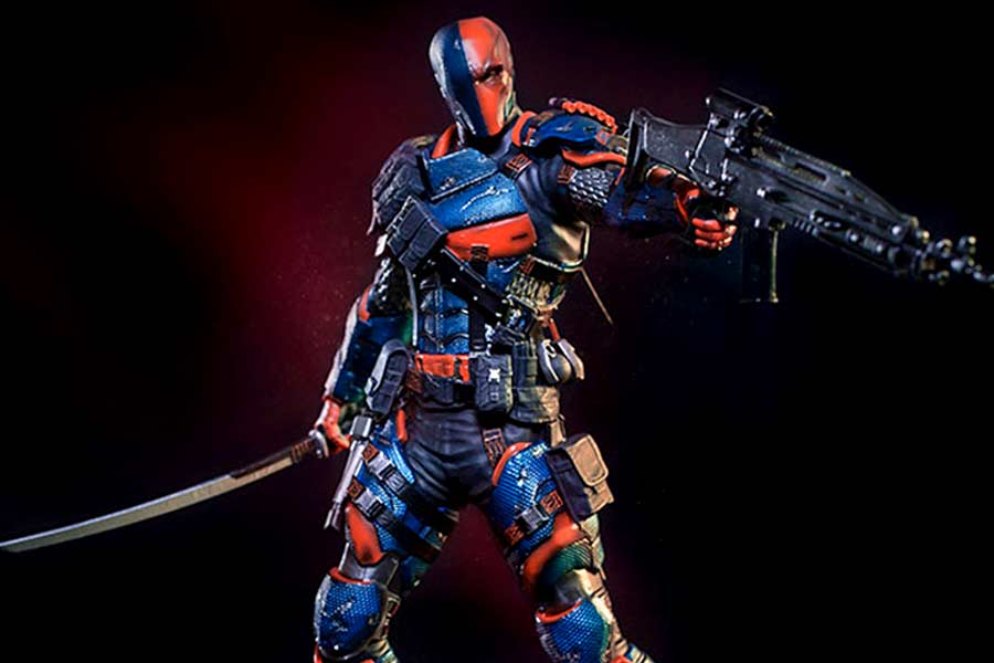 Deathstroke Arkham Knight Art Scale Iron Studios