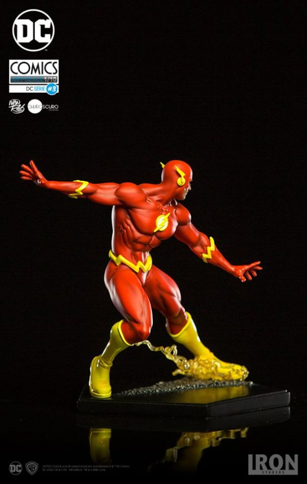 The Flash by Ivan Reis Art Scale Iron Studios