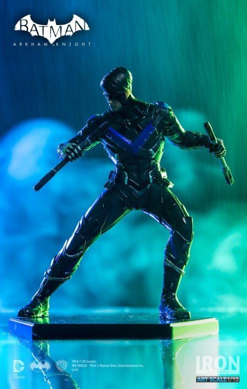 Nightwing Arkham Knight Art Scale Iron Studios
