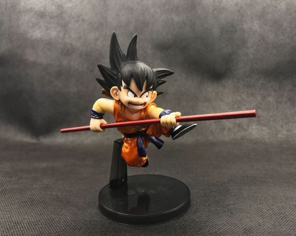 Son Goku Metallic Color Ver. Scultures Banpresto