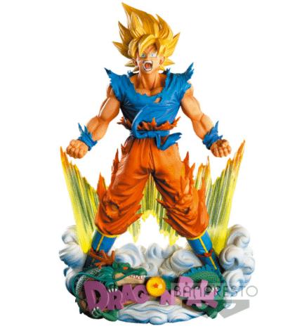 Son Goku The Brush Super Master Stars Diorama Banpresto