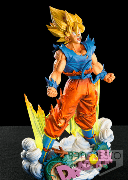 Son Goku (The Brush) Super Master Stars Diorama Banpresto