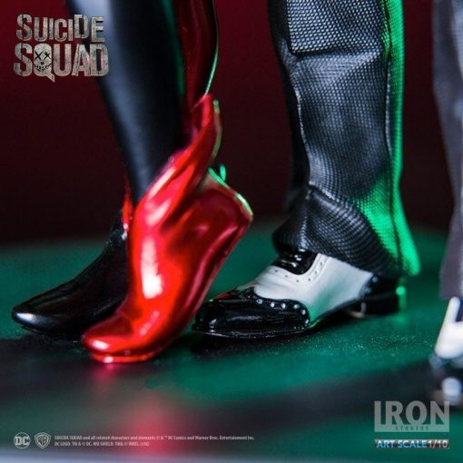 Harley and Joker (Dance ver.) Suicide Squad Art Scale Iron Studios