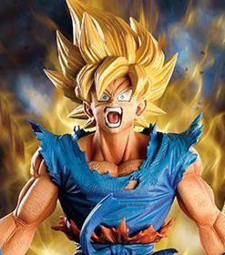 Son Goku (The Brush) Super Master Stars Diorama Banpresto