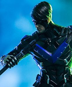 Nightwing Arkham Knight Art Scale Iron Studios