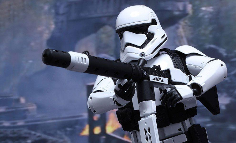 Stormtrooper Heavy Gunner First Order Hot Toys
