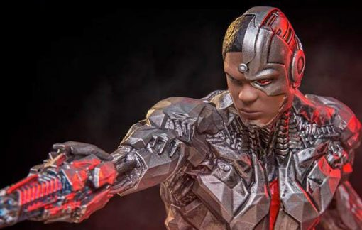 Cyborg Justice League Art Scale Iron Studios