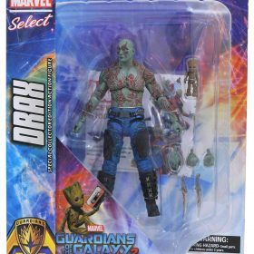 Drax with Groot Guardians of the Galaxy Vol.2 Marvel Select