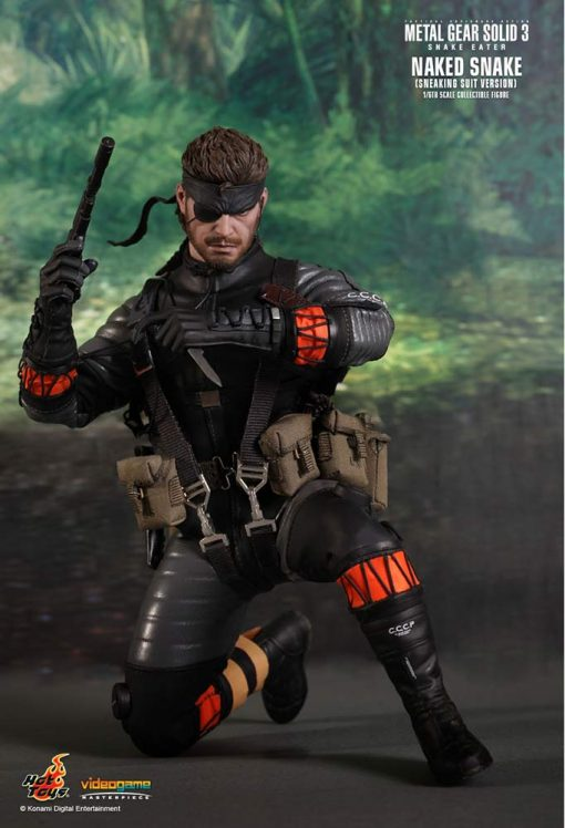 Naked Snake Metal Gear Solid 3 Sneaking Suit Hot Toys