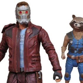 Star-Lord with Rocket Guardians of the Galaxy Vol.2 Marvel Select