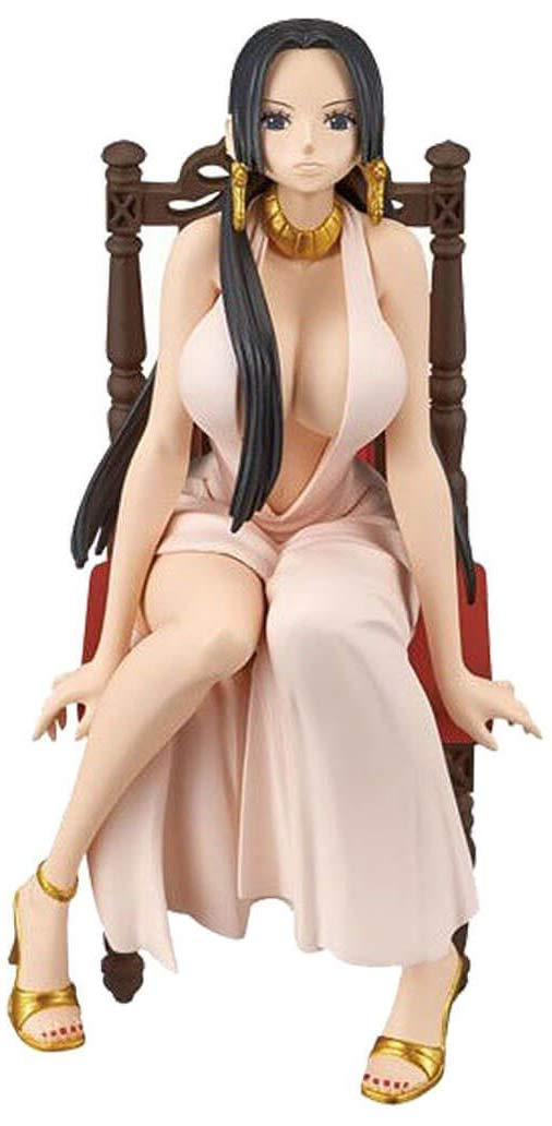 Boa Hancock Pink Dress One Piece Banpresto