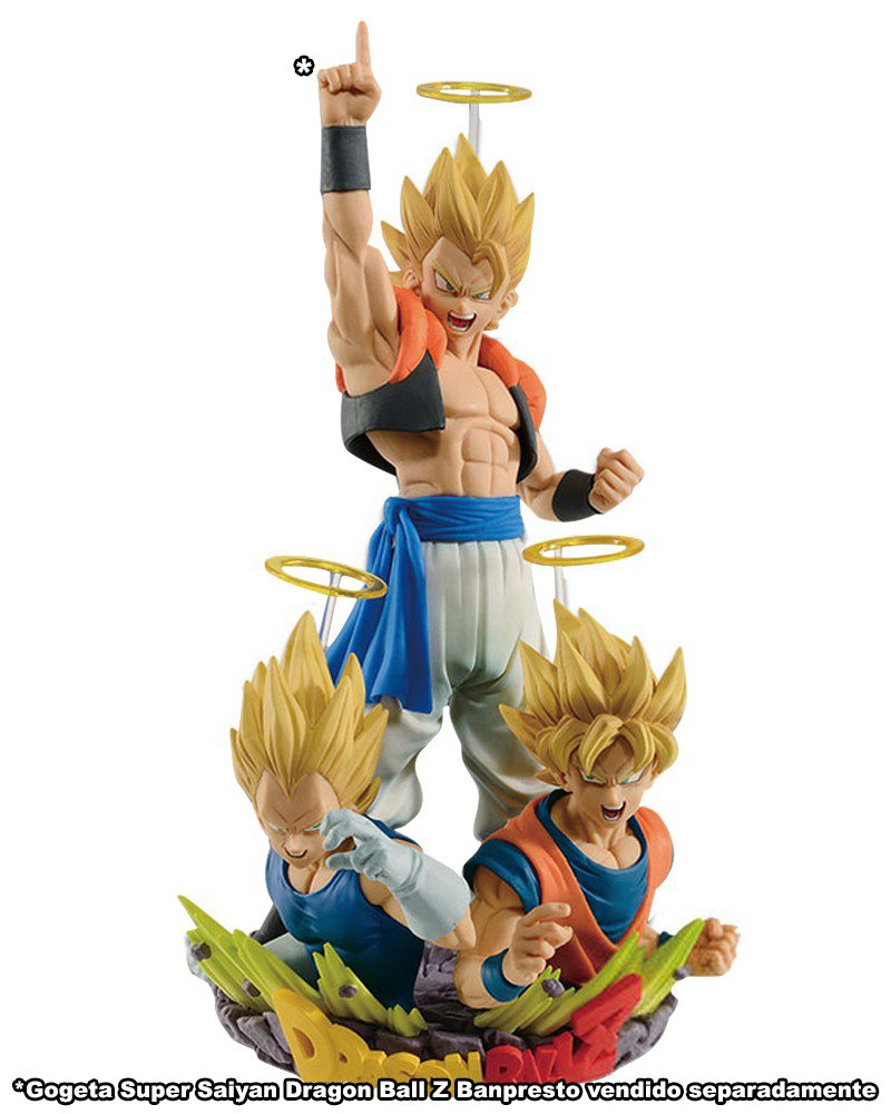 Goku & Vegeta (Com: Figuration Gogeta Vol.2) Dragon Ball Z Banpresto