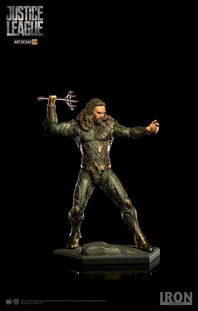 Aquaman Justice League Art Scale Iron Studios