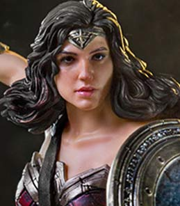 Wonder Woman Justice League Art Scale Iron Studios
