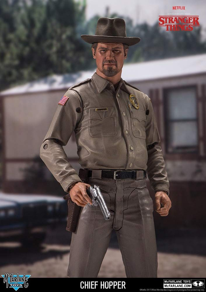 Chief Hopper Stranger Things Mcfarlane