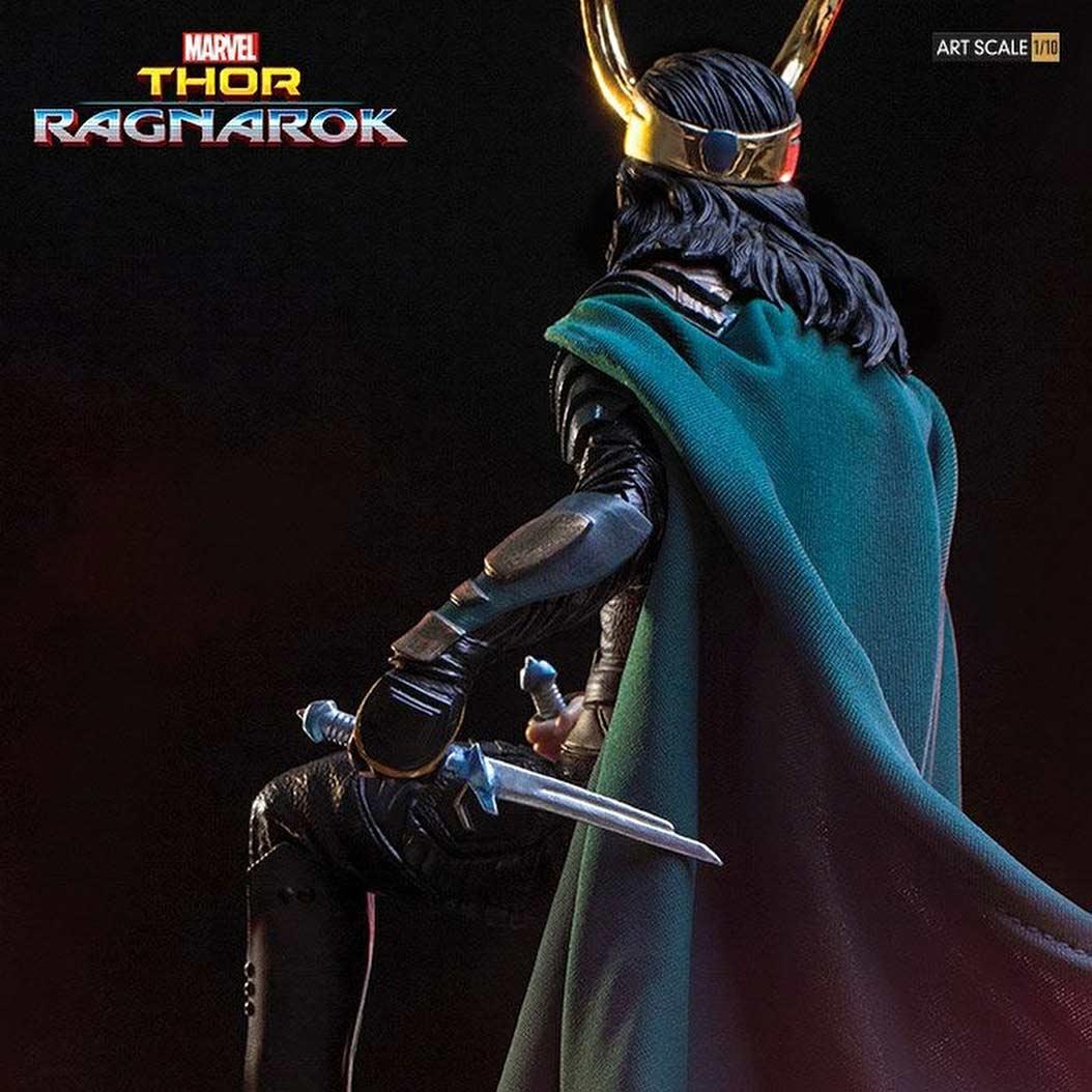 Loki Thor Ragnarok BDS Art Scale Iron Studios