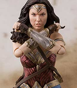 Wonder Woman Justice League S.H.Figuarts Bandai