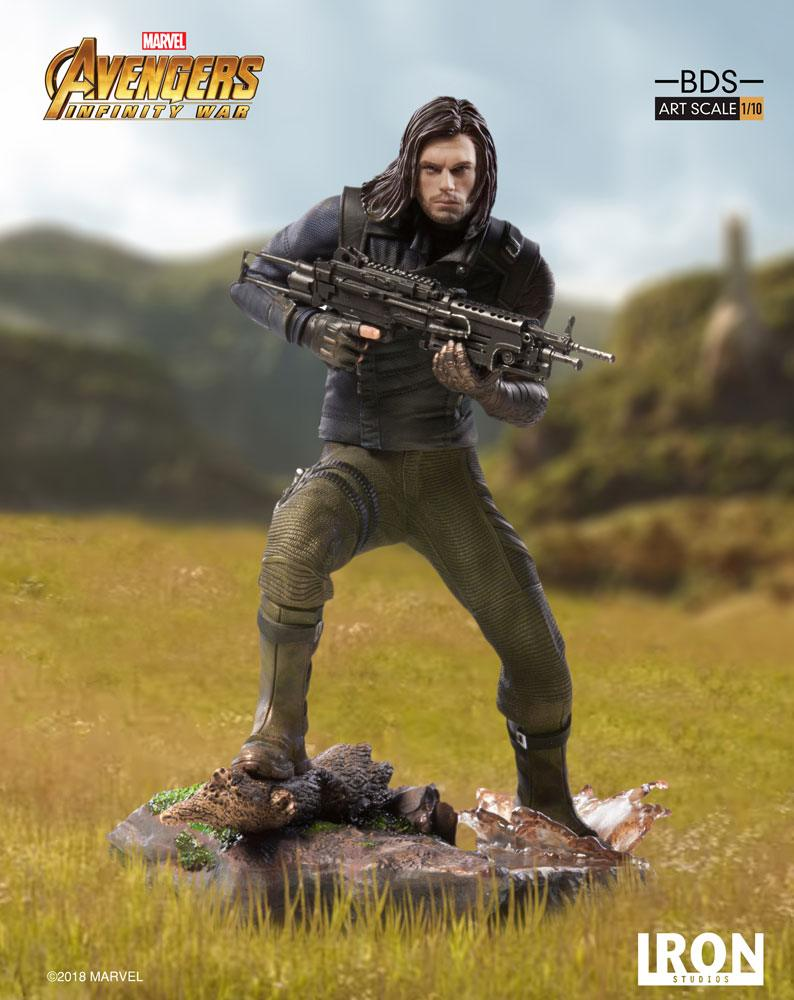 Winter Soldier Infinity War Art Scale Iron Studios