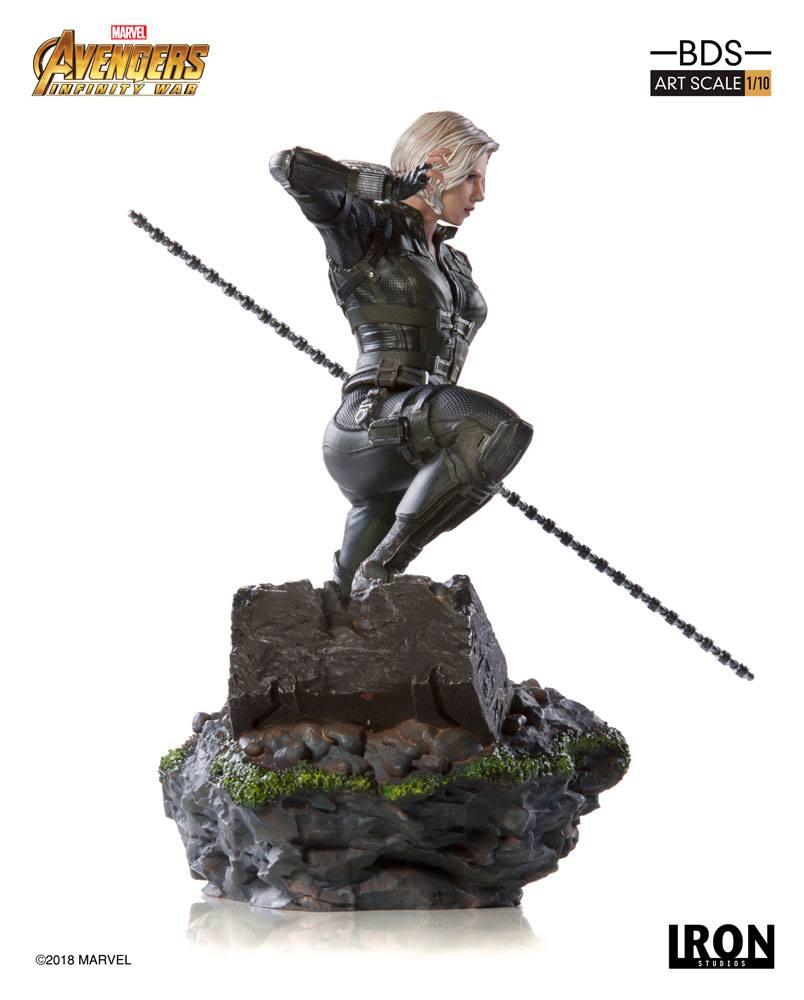 Black Widow Infinity War Art Scale Iron Studios